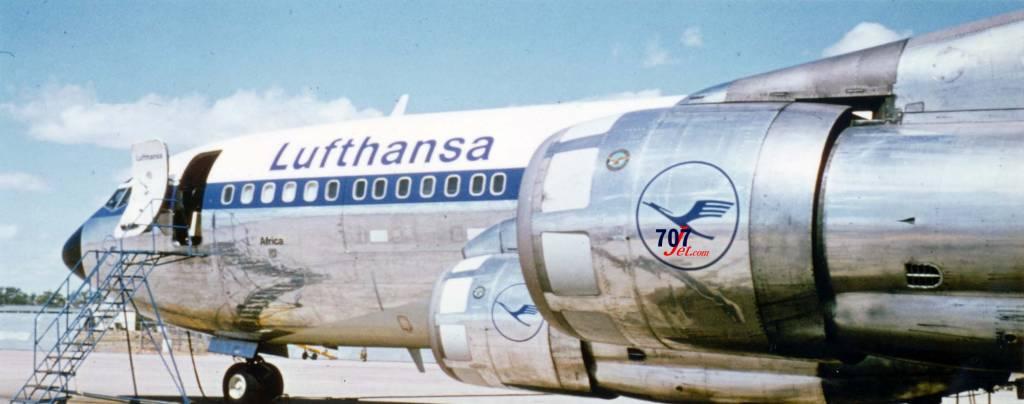 Lufthansa 707 AFRICA
