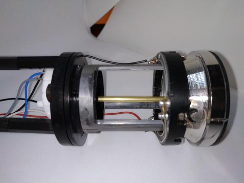 Rudder pressure indicator