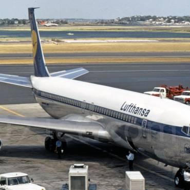 707 Lufthansa fleet
