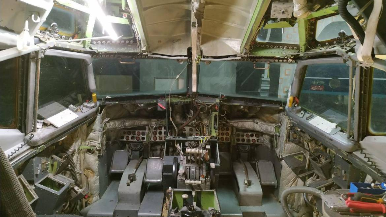 Cockpit restoration update